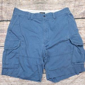 Polo Ralph Lauren Blue Cargo Khaki Shorts Size 40